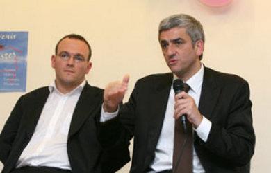 Hervé Morin soutient Damien Abad