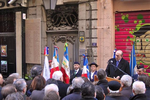 La ville de Lyon donne un nom aux 86 déportés de la rue Ste-Catherine