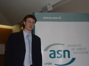 Charles-Antoine Louët : « La prévention des pollutions de l'environnement doit s'améliorer au Tricastin »