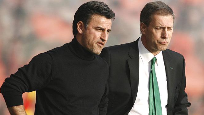 L'ancien entraîneur de l'OL Alain Perrin licencié par l'ASSE !
