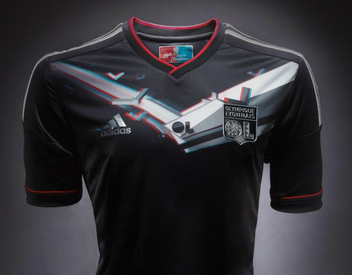 Le nouveau maillot Third de l'OL 2012-13, dévoilées par l'équipementier Adidas - Adidas - Photo DR