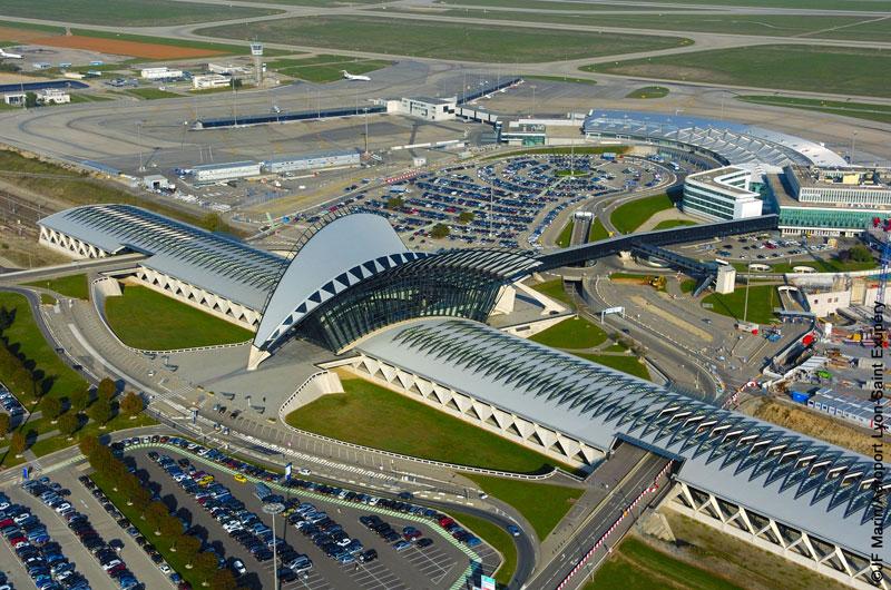 Lyon Saint Exupéry : deuxième aéroport de province