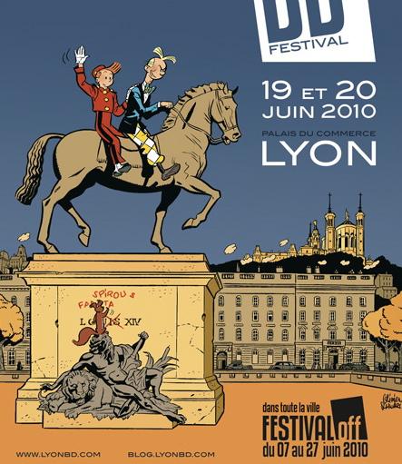 Coup d'envoi du festival de la bande dessinée à Lyon