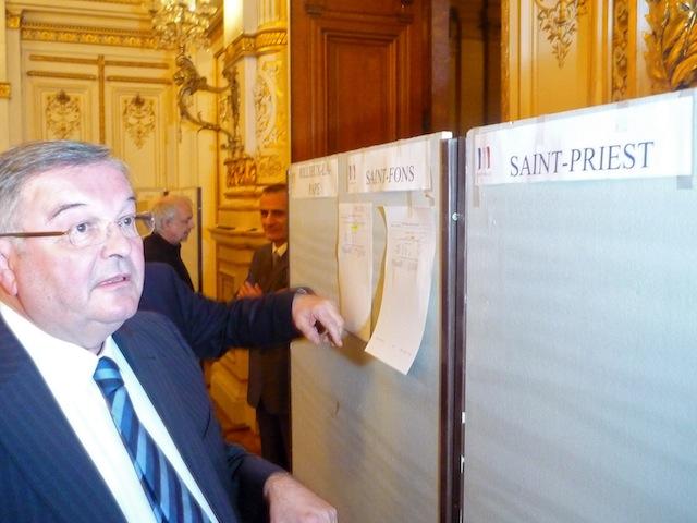 Cantonales : les résultats définitifs dans le Rhône
