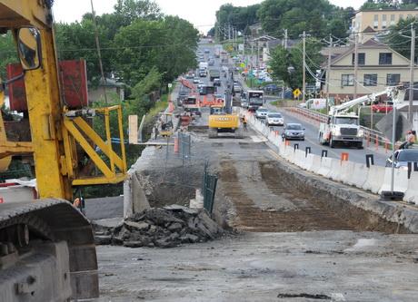 Toujours pas mal de travaux sur les routes de l'agglomération