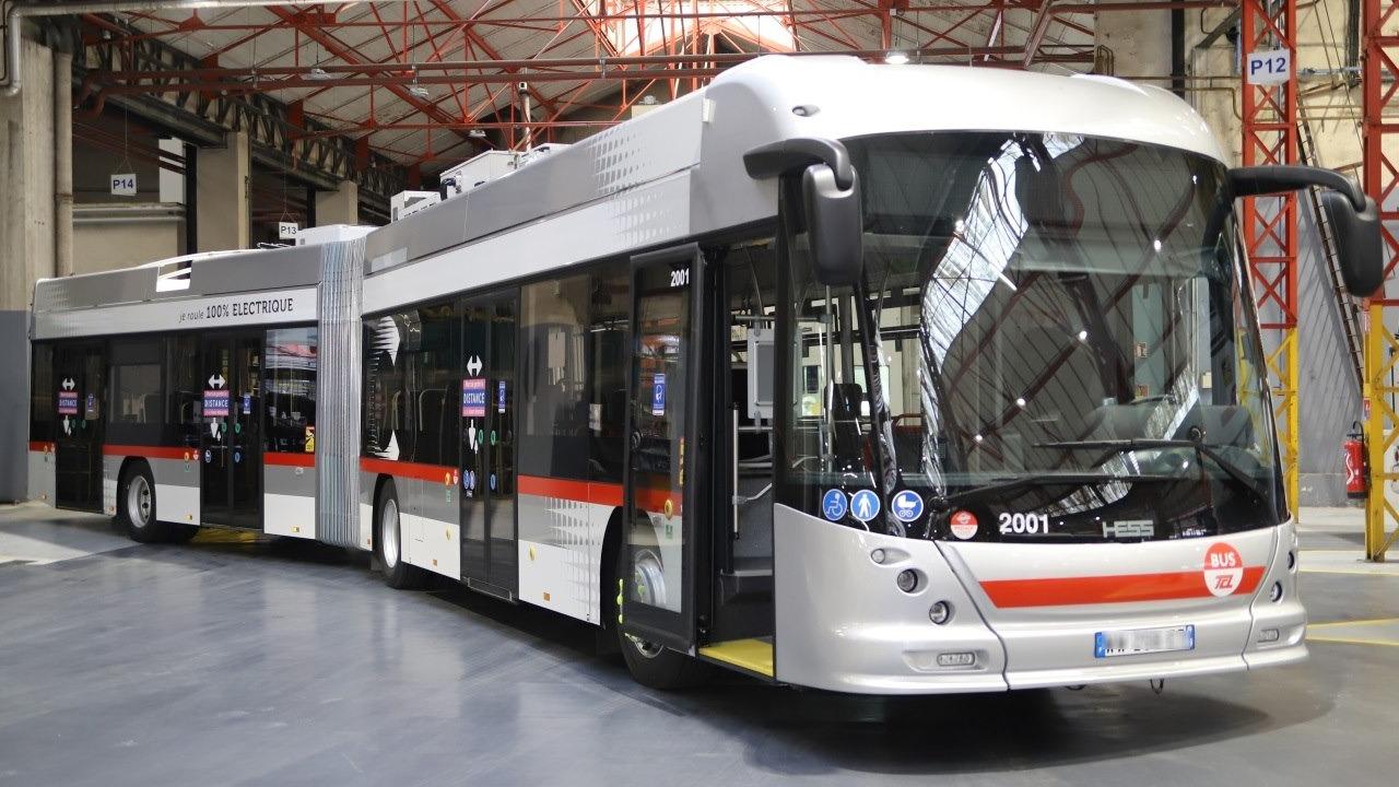 Lyon : le Sytral lance le premier trolleybus 100% électrique nouvelle technologie sur la ligne C13 - Lyon Mag