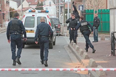 Les forces de l'ordre victimes de violences urbaines, à Rillieux