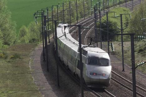 600 passagers d'un TGV Paris-Lyon bloquées en pleine voie dimanche