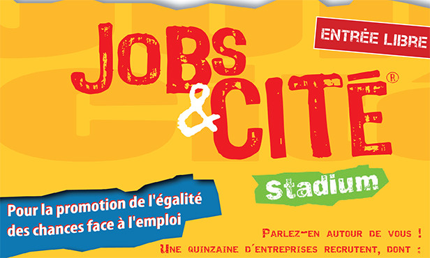Jobs et Cité Stadium : 300 postes à pourvoir ce mercredi