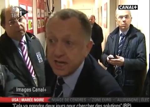 Jean-Michel Aulas ne digère pas