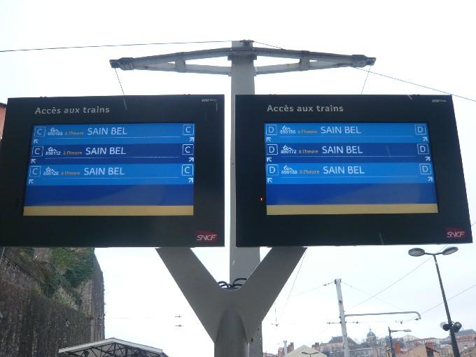 La nouvelle grille horaire des TER est entrée en service dimanche