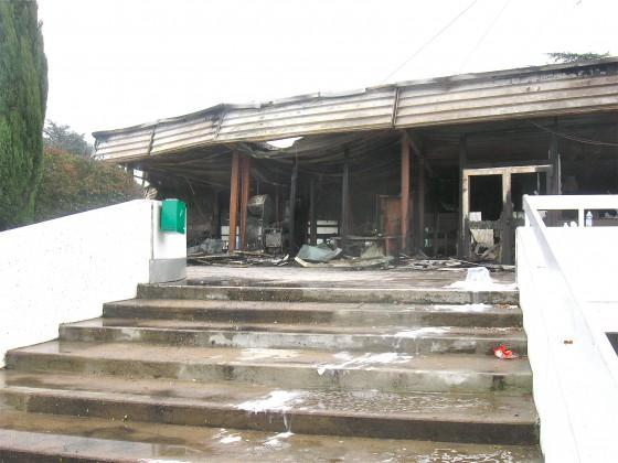 L'indignation après l'incendie du centre nautique de Vénissieux