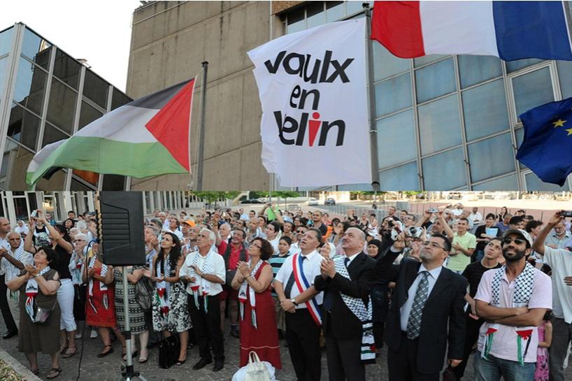 Vaulx-en Velin : le drapeau palestinien devra être retiré du fronton de la mairie