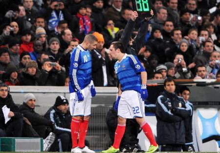 Franck Ribéry et Karim Benzema présentés à un juge d'instruction