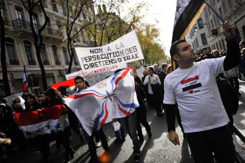 Une marche silencieuse en hommage aux Chrétiens d'Irak