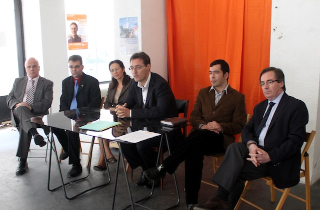 François Bayrou, président du Modem, et Marc Fesneau, secrétaire national