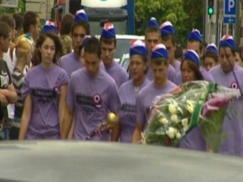 Une marche silencieuse en hommage au jeune homme décédé dimanche, à Chavanay