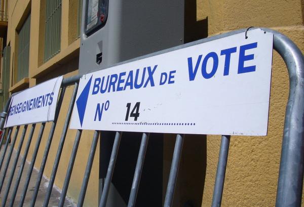 Élections régionales de participation à midi au