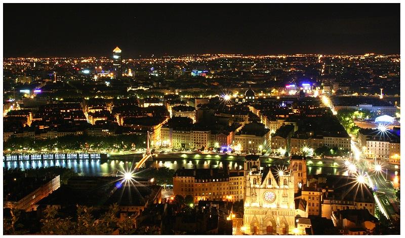 Pour prolonger les vacances... Lyon By Night (10/20)