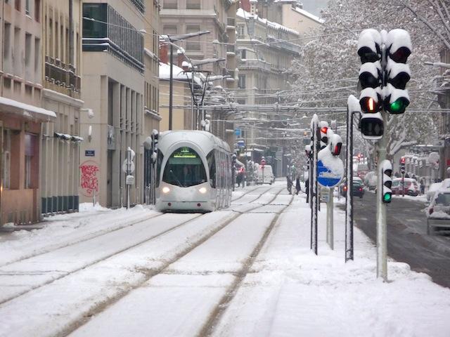 De 1 à 3 cm de neige attendus vendredi dans le Grand Lyon