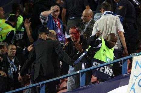 Brice Hortefeux durcit le ton face aux supporters violents
