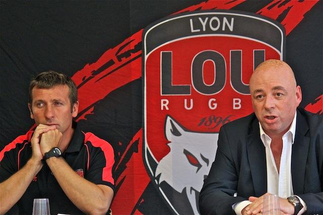 Pour sa première saison en Top 14, le LOU Rugby vise le maintien
