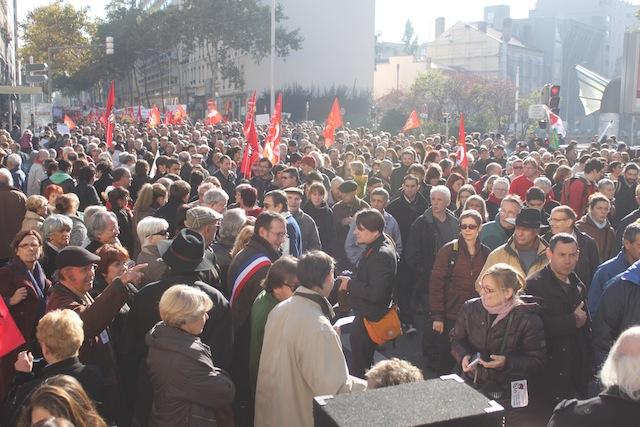 Plus d'un millier de fonctionnaires dans les rues de Lyon mardi