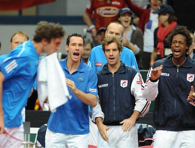 Coupe Davis : France-Argentine à Lyon?