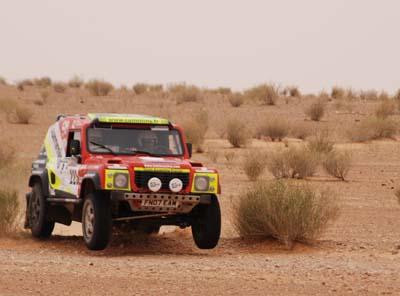 "Rallye : ""Digne d'un Dakar"""