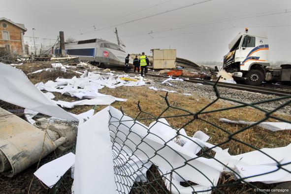 Accident de TGV dans l'Ain : 1 mort et 35 blessés