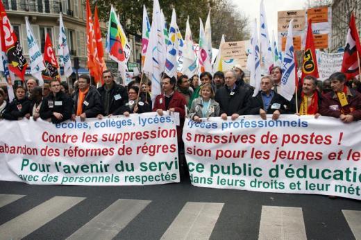 """Grève dans l'éducation, service minimum : """"Un dispositif avant tout médiatique"""""""