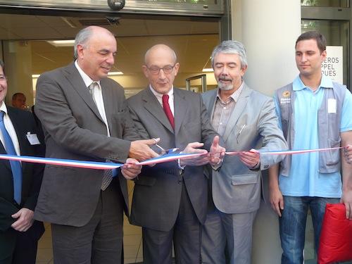 Le bureau de poste de Lyon Guillotière a été inauguré vendredi