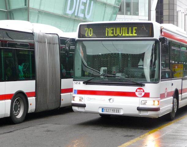 Le Grand Lyon aura un tout nouveau réseau de bus dans un an
