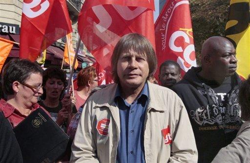 Bernard Thibault à Lyon le 31 août