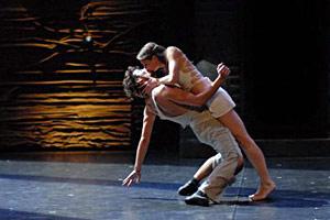 Danse Roméo et Juliette à l'Opéra