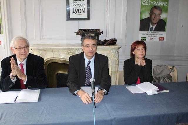 Jean-Jack Queyranne regrette l'union tardive des listes