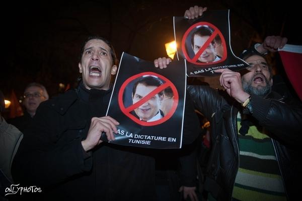 Lyon: manifestation pour l'Algérie et la Tunisie