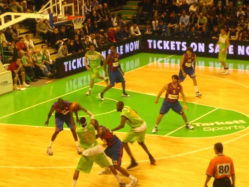 L'ASVEL a subi la loi de Barcelone