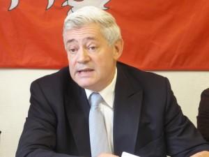 Bruno Gollnisch en campagne pour la présidence du Front National