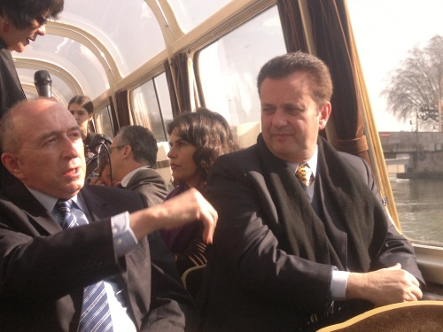 Collomb guide le maire de Sao Paulo