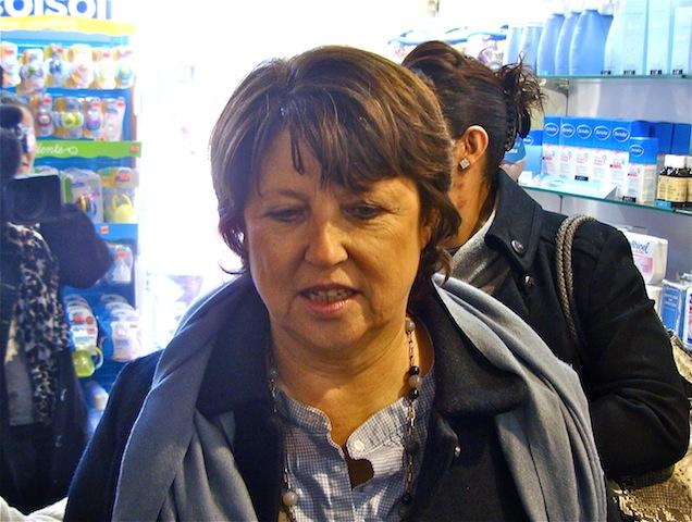 Les soutiens de Martine Aubry à Lyon continuent de plancher