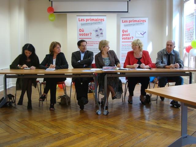 Les Aubrystes du Rhône louent la « politique complète » de leur candidate