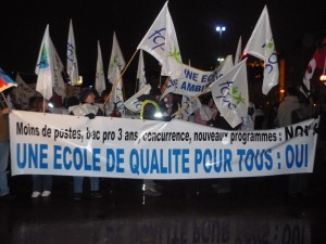 Education Nationale: 3 000 manifestants à Lyon