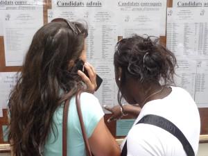 Fin du suspense pour les candidats au Bac