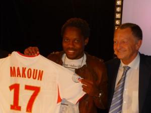 Football : Jean II Makoun forfait pour le déplacement à Rennes
