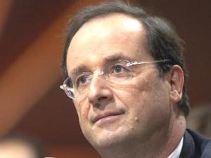 François Hollande est à Villeurbanne