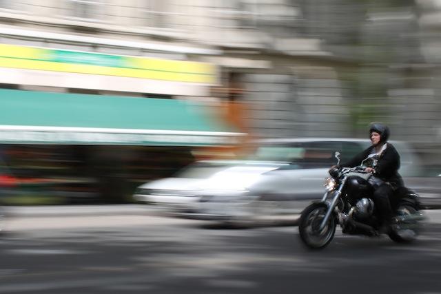 Nouvelle manifestation des motards vendredi soir