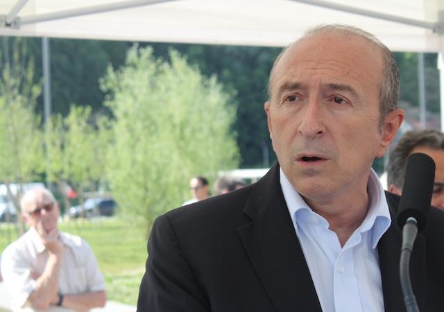 Collomb ne votera pas la « règle d'or » proposée par Sarkozy