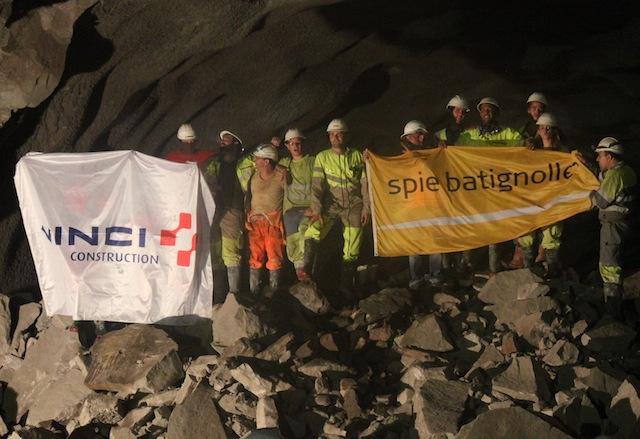 Le deuxième tunnel sous la Croix-Rousse est creusé