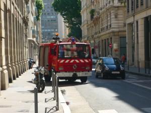 Il y a eu des problèmes de circulation hier dans le 1er arrondissement